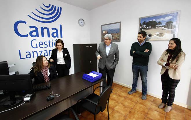 Canal gesti n y el consorcio abren una oficina de atenci n for Oficinas fred olsen