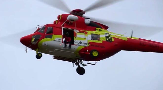 Política Territorial incorpora de manera permanente un nuevo helicóptero para reforzar el servicio del GES en caso de emergencias y avería