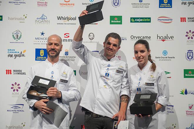 Joao Henrique Faraco, mejor cocinero de Canarias