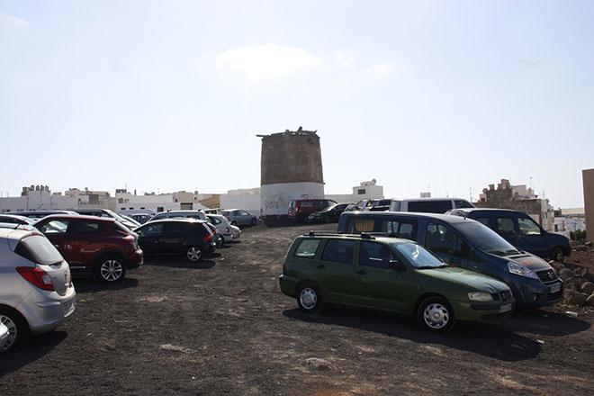El solar de más de 7.300 metros cuadrados del molino de Cabo Pedro ya es público - Diario de Lanzarote