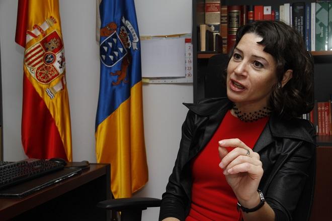 """Gloria Poyatos: """"La educación es la vacuna frente a la violencia de género"""""""