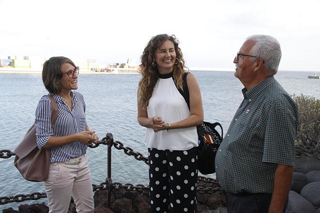 """Ornella Chacón apuesta por la delimitación de espacios susceptibles de ser considerados """"Espacio Puerto Ciudad"""""""
